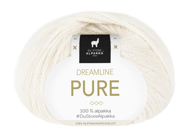 Dreamline Pure - Snøhvit