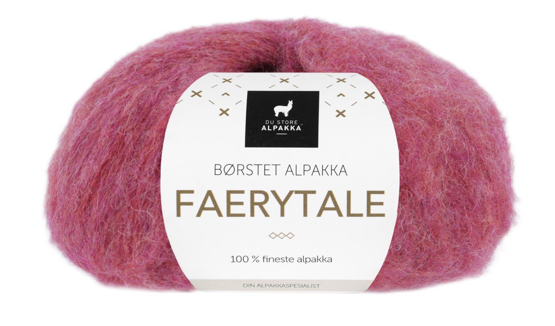 Faerytale - Rød melert