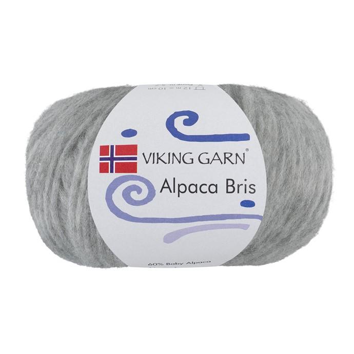 Alpaca Bris Lys grå