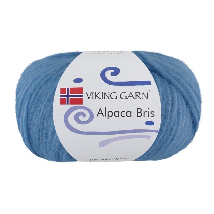 Alpaca Bris Blå