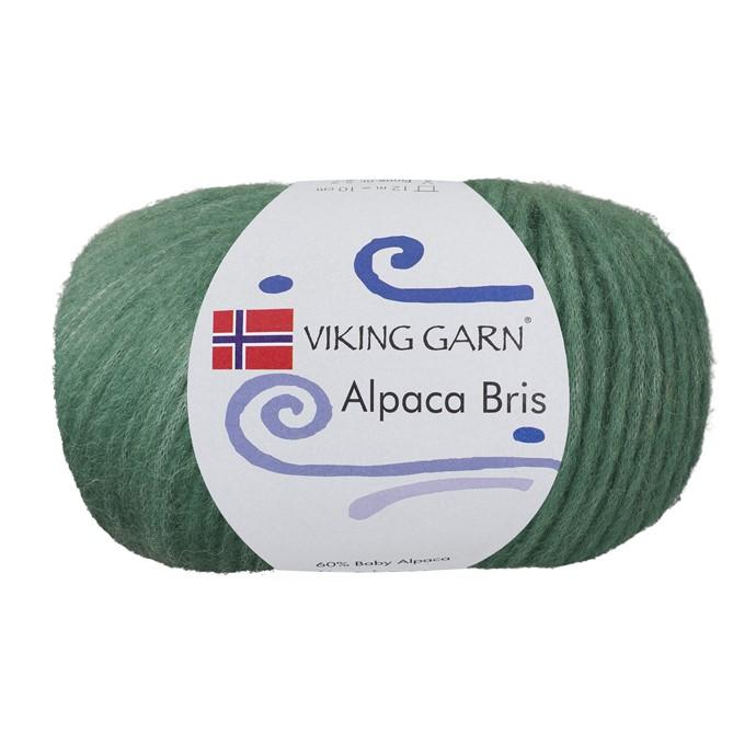 Alpaca Bris - Jadegrønn