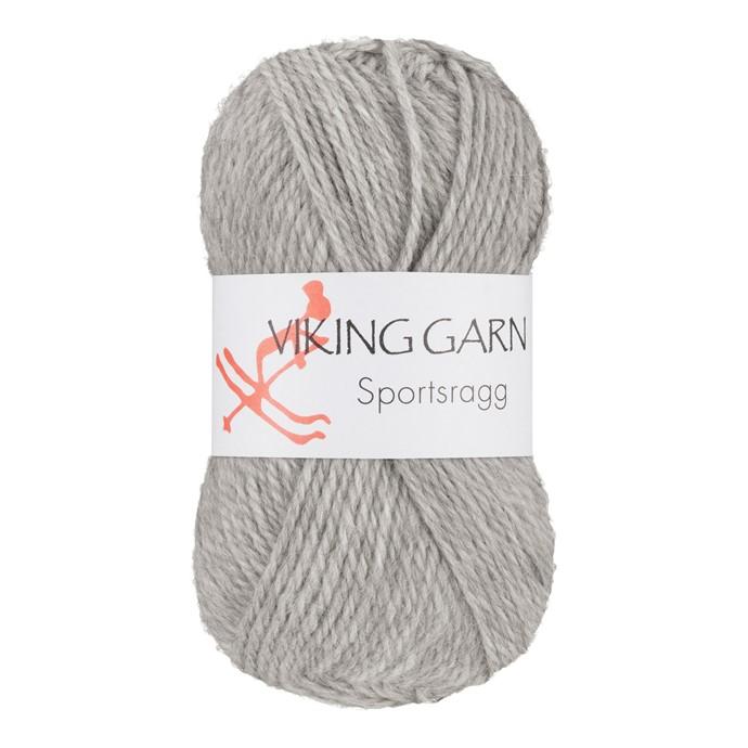Viking Sportsragg Lys grå