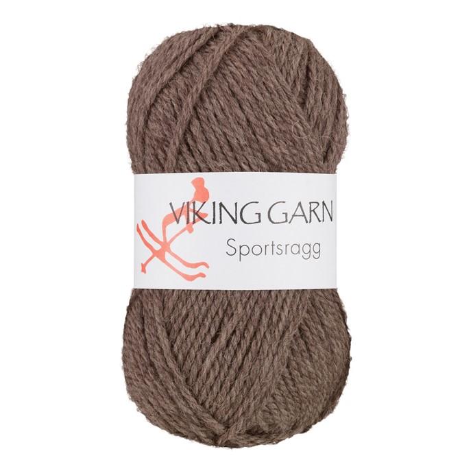 Viking Sportsragg Lys brun