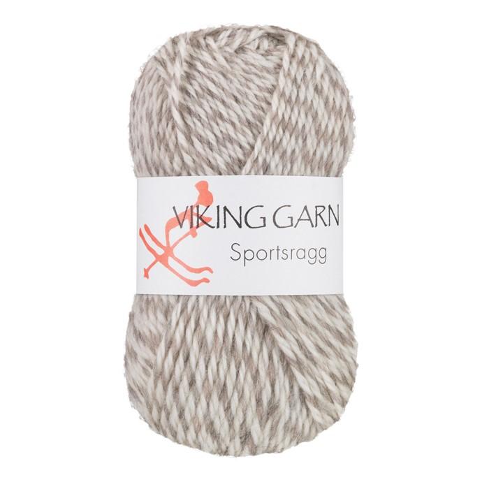 Viking Sportsragg Hvit/grå