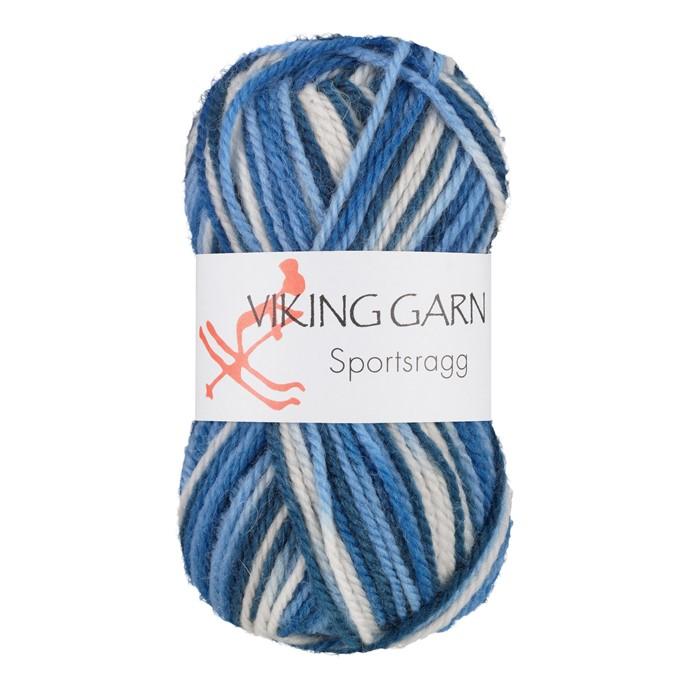 Viking Sportsragg Mutihvit/blå