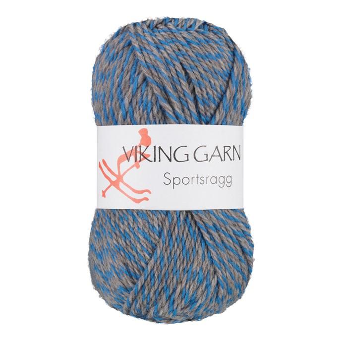 Viking Sportsragg Grå/blå