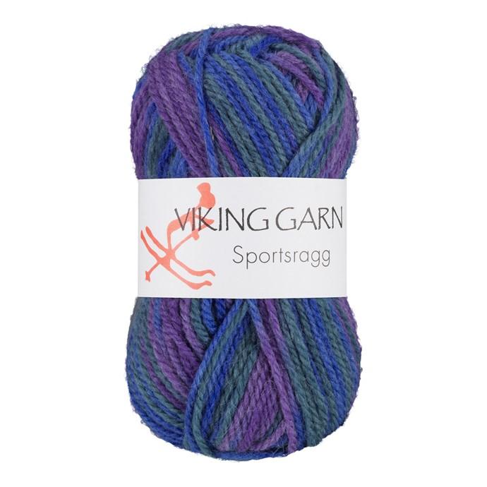 Viking Sportsragg Multiblå/lilla