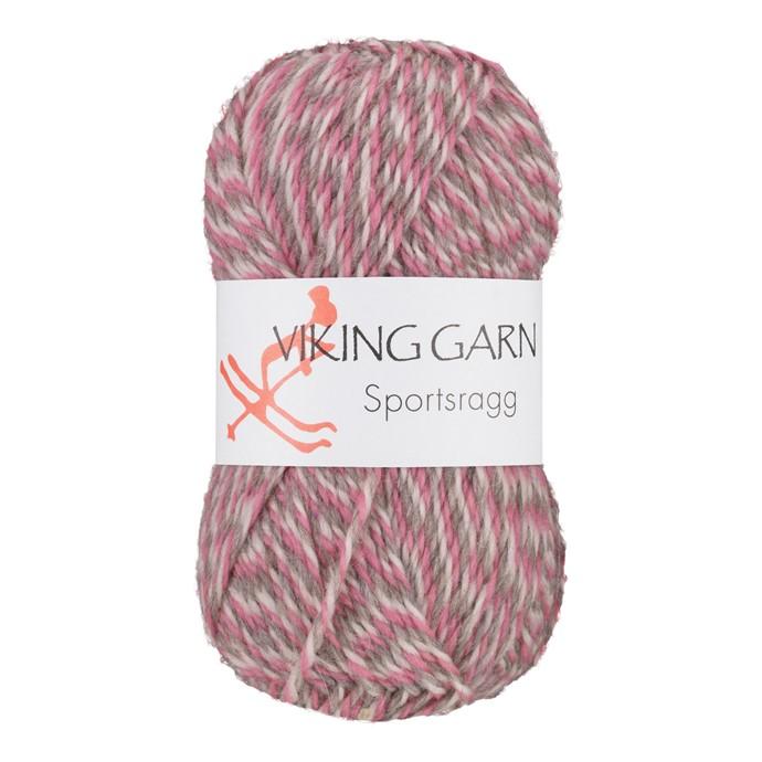 Viking Sportsragg Rosa/grå
