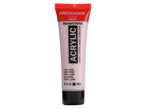 Amsterdam Standard 20ml - 361 Light Rose