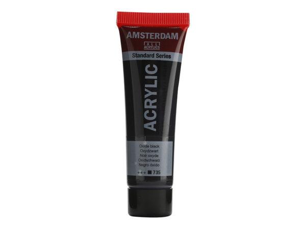Amsterdam Standard 20ml - 735 Oxide Black