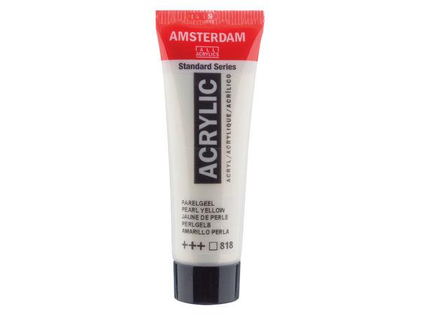 Amsterdam Standard 20ml - 818 Pearl yellow