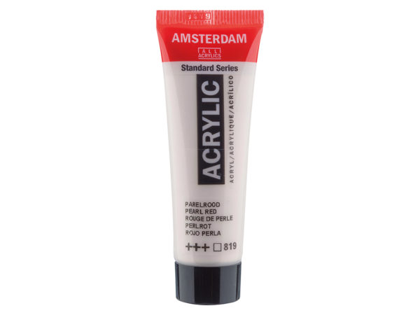 Amsterdam Standard 120ml - 819 Pearl red