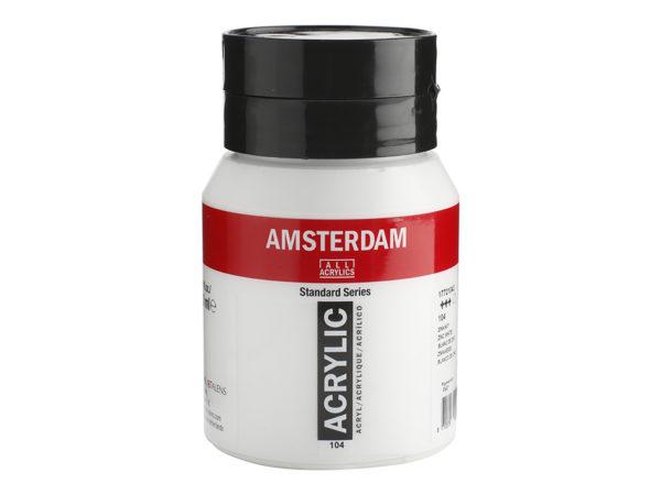 Amsterdam Standard 500ml - 104 Zinkwhite