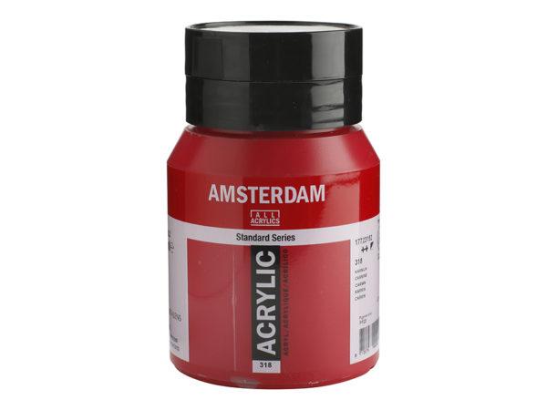 Amsterdam Standard 500ml - 318 Carmine