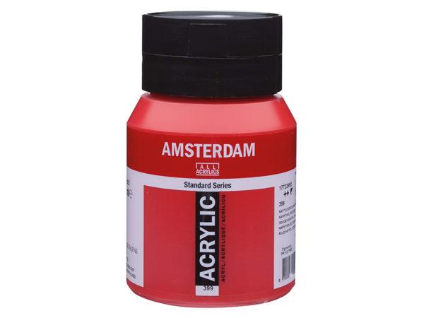 Amsterdam Standard 500ml - 399 Naphthol red deep
