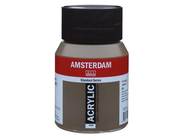 Amsterdam Standard 500ml - 408 Raw Umber