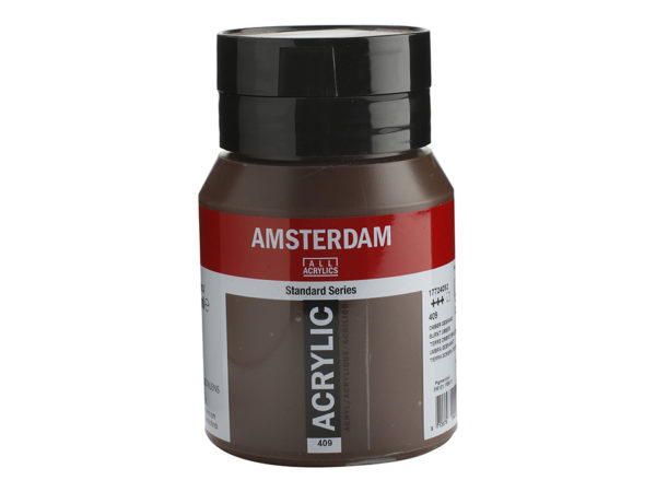 Amsterdam Standard 500ml - 409 Burnt umber
