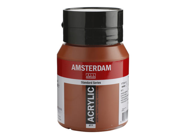 Amsterdam Standard 500ml - 411 Burnt sienna