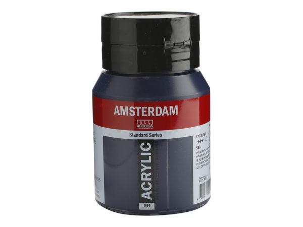 Amsterdam Standard 500ml - 566 Prussian Blue Phthalo