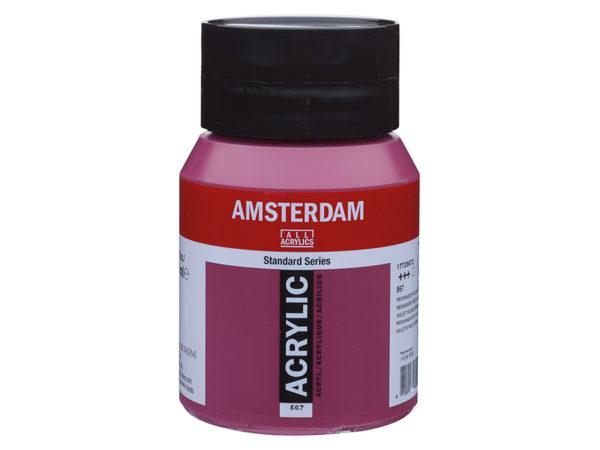 Amsterdam Standard 500ml - 567 Permanent red violet