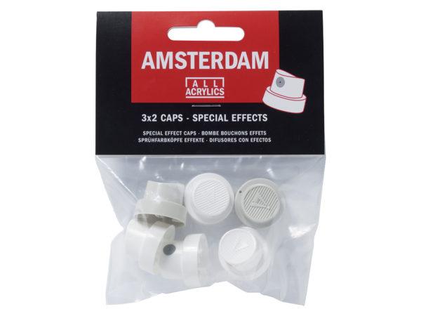 Amsterdam Spray - Cap set - 2 x 3 stk dyser