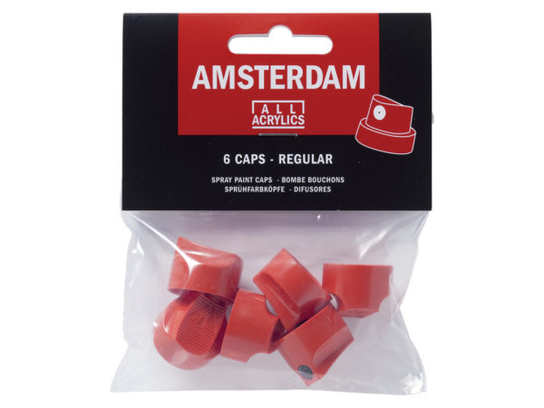 Amsterdam Spray - Regular Cap - 6 stk dyser