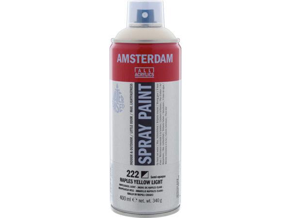 Amsterdam Spray 400ml - 222 Naples yellow light
