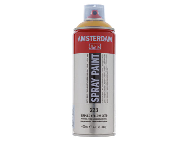 Amsterdam Spray 400ml - 223 Naples yellow deep