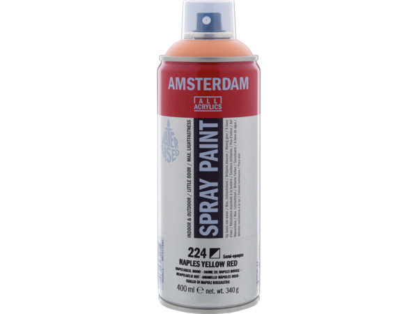 Amsterdam Spray 400ml - 224 Naples yellow red