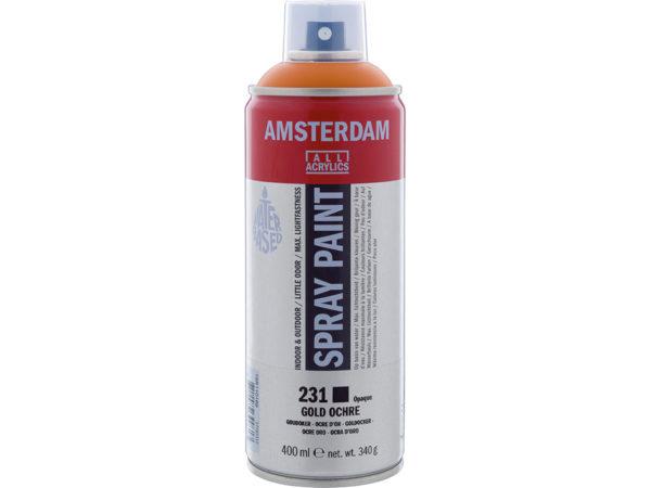 Amsterdam Spray 400ml - 231 Gold ochre
