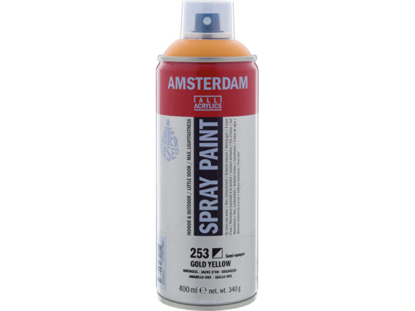 Amsterdam Spray 400ml - 253 Gold yellow