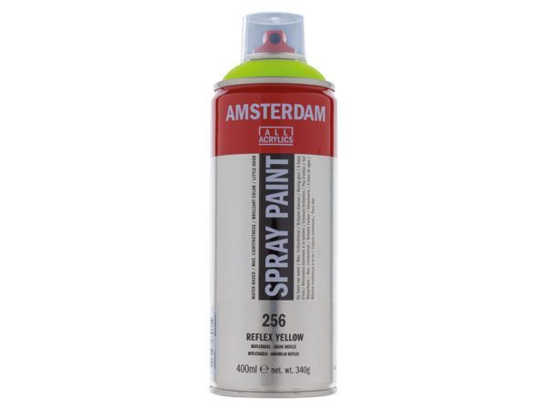 Amsterdam Spray 400ml - 256 Reflex yellow