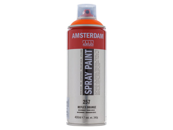 Amsterdam Spray 400ml - 257 Reflex orange