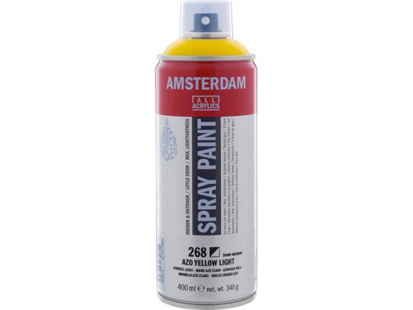 Amsterdam Spray 400ml - 268 Azo yellow light