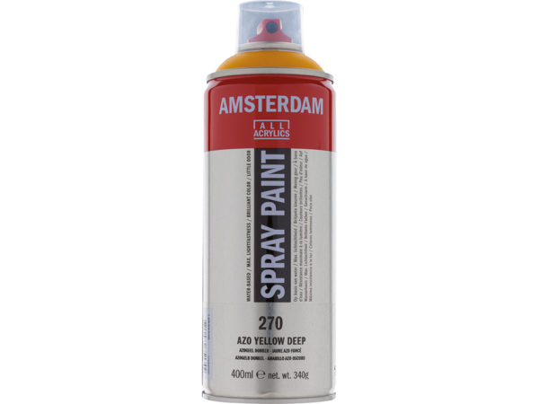 Amsterdam Spray 400ml - 270 Azo yellow deep