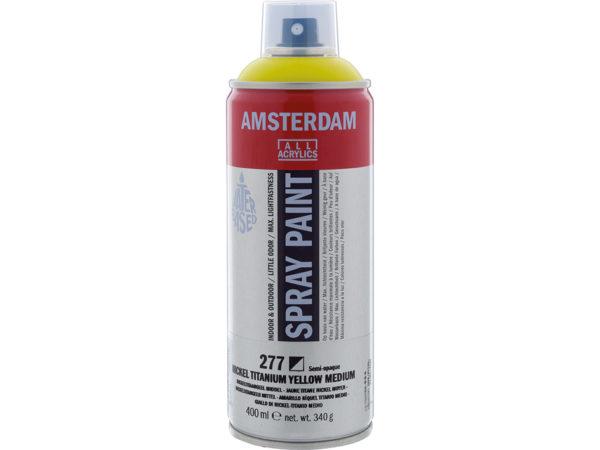Amsterdam Spray 400ml - 277 Nickel titanium yellow medium