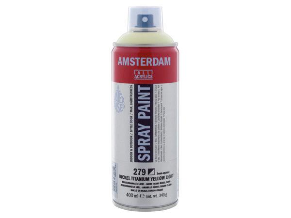 Amsterdam Spray 400ml - 279 Nickel titanium yellow light