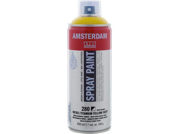 Amsterdam Spray 400ml - 280 Nickel titanium yellow deep