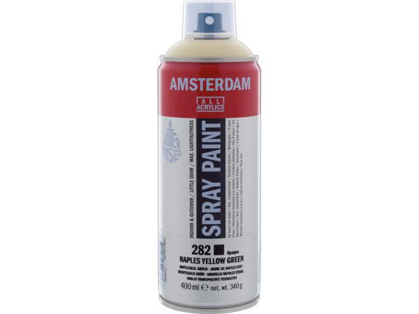 Amsterdam Spray 400ml - 282 Naples yellow green