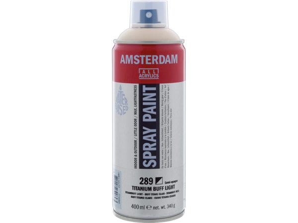 Amsterdam Spray 400ml - 289 Titanium buff light