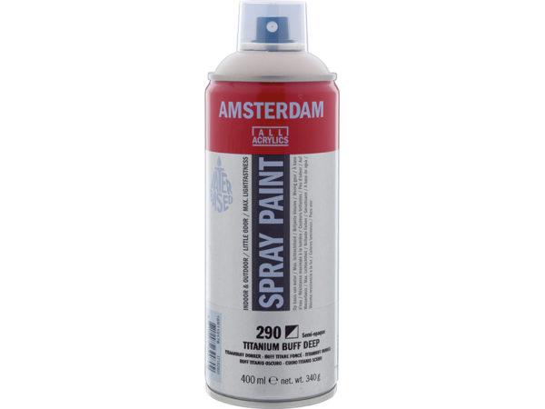 Amsterdam Spray 400ml - 290 Titanium buff deep