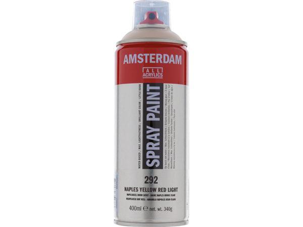 Amsterdam Spray 400ml - 292 Naples yellow red light