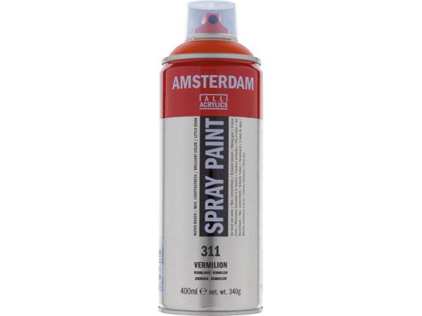 Amsterdam Spray 400ml - 311 Vermilion