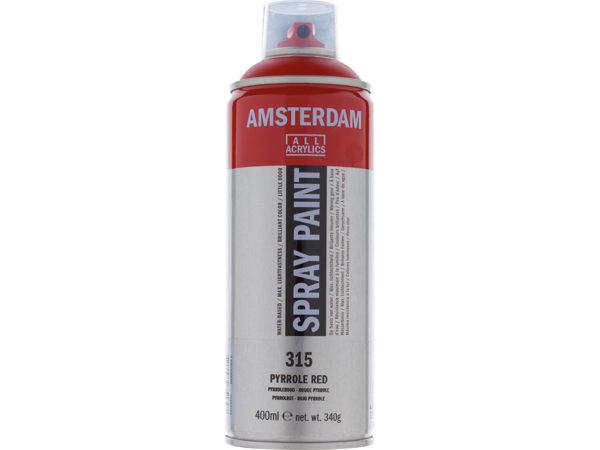 Amsterdam Spray 400ml - 315 Pyrrole red