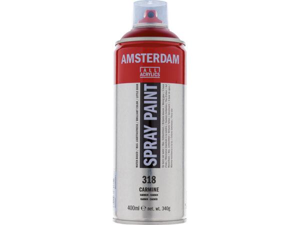 Amsterdam Spray 400ml - 318 Carmine