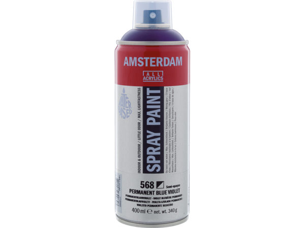 Amsterdam Spray 400ml - 568 Permanent blue violet