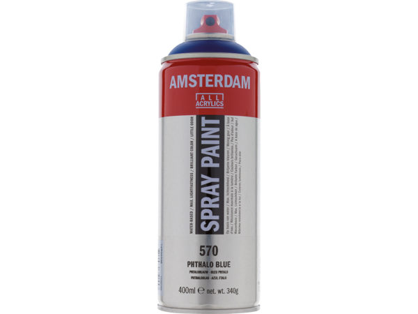 Amsterdam Spray 400ml - 570 Phthalo blue