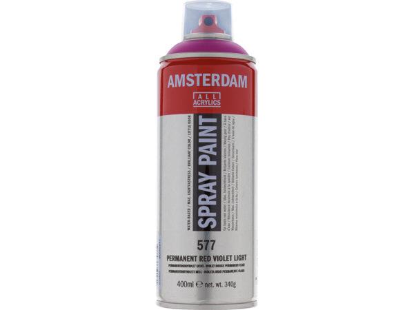 Amsterdam Spray 400ml - 577 Permanent red violet light