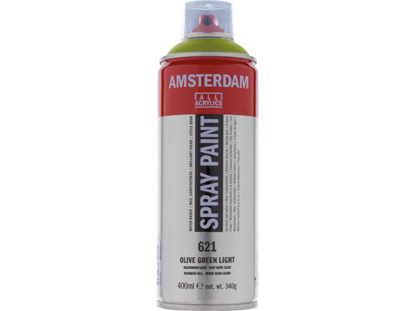 Amsterdam Spray 400ml - 621 Olive green light