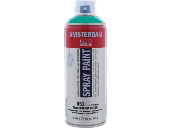 Amsterdam Spray 400ml - 651 Transparent green